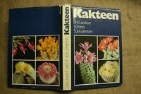 Fachbuch Kakteen, Kaktus, Sukkulenten, 500 Arten in Wort und Bild, DDR 1980