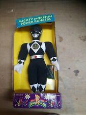Black Ranger Mighty Morphin Power Rangers Action Pal - Plush Classic/Vintage
