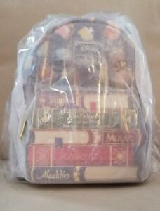 Loungefly Disney Princess Books AOP Mini Backpack NWT Unopened.📚🎒