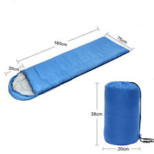 Outdoor Waterproof Envelope Sleeping Bag Camping Travel Hiking with Carrying Bag