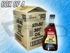 STA-BIL 22402 360 DEGREE OIL STABILIZER - BOX OF 4 BOTTLES - MADE IN USA