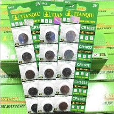 5PCS CR1632 1632 3V Coin Button Batteries Cell Battery For Watch Toys Remote U