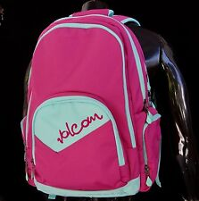 New Volcom Pink Nerd Alert Backpack Unisex Womens Gym School bag