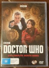 Doctor Who The Complete Eighth Series Season 8 BBC R4 DVD Brand New & Sealed