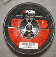 ECHO .130 CROSSFIRE STRING TRIMMER LINE 3 POUND SPOOL 450' PART # 314130054 NEW