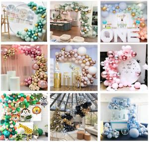 Balloon Arch Garland Kit Happy Birthday Baby Shower Wedding Party Decor Balloons