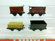 BR475-0,5 #4x Ttr H0 / Dc Vagones Chapa: 141578+24296+10687 Etc. Manualidades /