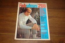 FABULOUS FAB 208 22 JUNE 1968 GARY PUCKETT JULIE DRISCOLL PETER NOONE SKIPPY
