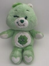 "Vtg Care Bears Kenner 1983 Good Luck Bear 13"" Stuffed Animal Plush Toy Euc"