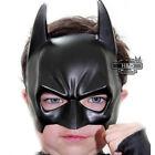Cool Mask Halloween Batman Adult Masquerade Party Mask Half Face Black Costume