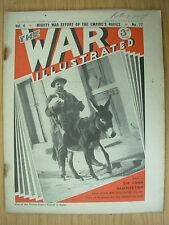 WAR ILLUSTRATED MAG No 77 FEBRUARY 21st 1941 BRITISH SOLDIER ENTERS TOBRUK