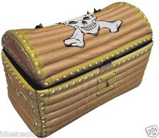 Inflatable Blow Up TREASURE CHEST Pirate Beach Pool Holiday Fancy Dress Party