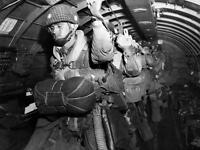 WW2 Photo, D-Day Invasion, Paratroops Ready to Go, WWII Normandy World War Two