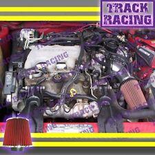 1995/95 CHEVY CHEVROLET MONTE CARLO 3.1L V6 AIR INTAKE KIT Black Red