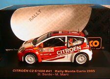 CITROEN C2 S1600 #41 SORDO MARTI RMC 2005 IXO RAM173