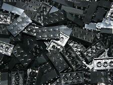 LEGO 50 x BLACK BRICKS 2 x 4  No 3001  CITY-STAR WARS-MOVIE