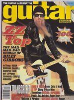 OCT 1996 GUITAR SCHOOL vintage music magazine ZZ TOP - BILLY GIBBONS