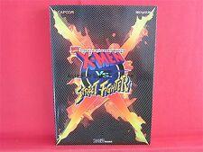 X-Men VS. Street Fighter Official Guide Book / ARCADE, SS