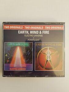⚠️ Earth Wind and Fire Powerlight Electric Universe ⚠️ CD Sammlung 400 Stück ⚠️
