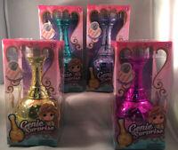 Genie Surprise ~ Collectible Dolls ~ Transform From Magic Genie Bottle ~Set Of 4