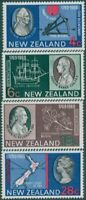 New Zealand 1969 SG906-909 Captain Cook's Landing set MNH