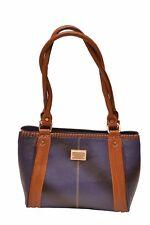 ZINT Womens Genuine Leather Handbag Ladies Purse Shoulder Bag Gift for Her Blue
