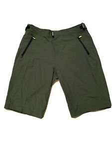 Raceface Indy Shorts Large Green Mountain Bike Shorts