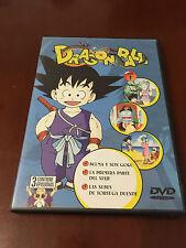 DRAGON BALL  DVD 1 - CAPITULOS 1 A 3 - 75 MINUTOS - PAL 2 - SALVAT - TORIYAMA