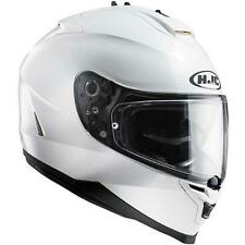 Casco, Helmet, Casque,  HJC IS-17 BLANCO Talla / Size: S
