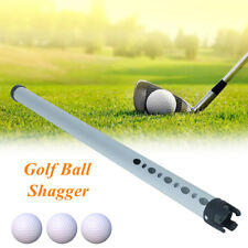 Portable Aluminum Shag Tube Practice Golf Ball Shagger Picker Hold Up 23 Balls