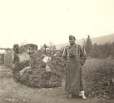WWII German Luftwaffe RP- AA FLAK Soldier- Greatcoat- Hat- Binoculars- 1940s