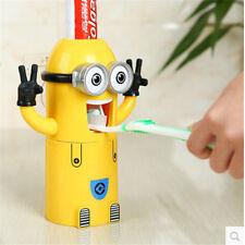 Ménage Automatique Dentifrice Distributeur Soutien De Brosses Minions