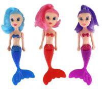 3 x Meerjungfrau Puppe Kindergeburtstag Mitgebsel Spielzeug