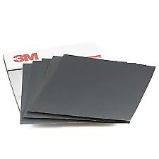3M WET OR DRY SANDPAPER FULL SHEET 400 800 &1200 GRADES
