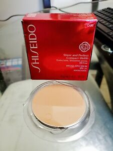 Shiseido sheer and perfect compact O20 Refill BROAD SPECTRUM SPF 21 SUNSCREEN