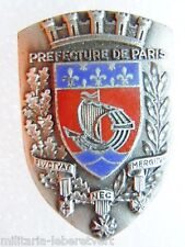 Insigne POLICE obsolète FRANCE PP PREFECTURE DE PARIS Arthus Bertrand ORIGINAL 2