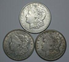 1921 PDS Morgan Silver Dollar Circ - 181195A