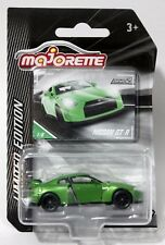 NISSAN GT-R * 2017 MAJORETTE LIMITED EDITION TOYS R US EXCLUSIVE GREEN SERIES 2
