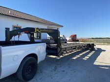 2020 Kaufman gooseneck trailer flatbed