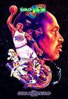 BLACKLIGHT - Space Jam - HD Movie Poster - MICHAEL JORDAN - 11x18 Classic Art