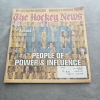 The Hockey News December 30 2003 Vol. 57 No. 18 100 People of Power & Influence