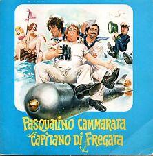 OST=Pasqualino Cammarata Capitano Di Fregata 45 giri triple gatefold 1974 EX