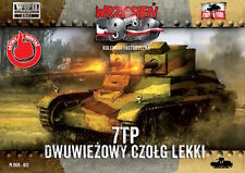 First to Fight 032 Polish light tank 7TP double turret 1/72