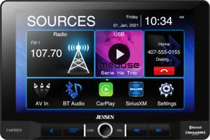 Jensen CAR910W Multimedia Receiver w/ Wireless Apple Carplay & SiriusXM-Ready