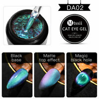 MTSSII 5ml 9D Cat Eye UV Gel Nail Polish Soak Off Magnetic Gel Varnish Manicure
