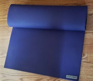 "BARELY USED  PURPLE 24x74x 5/16"" THICK Jade Yoga Matt PURPLE ""XL"" size sku 574p"