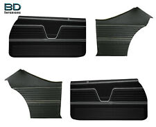 1969 Chevelle Coupe Front and Rear Pre Assembled Door Panel Set Disitnctive Ind