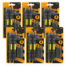 Compact Precision Pocket Size 4-in-1 Multi Tip Screwdriver & Bits (Set of 12)