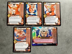DBZ CCG Majin Dabura Personality Set 180 181 182 119 183 Dragonball Z Cards