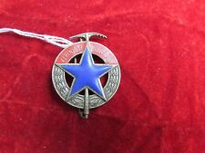 French Army Badge:  Brevet d' Alpiniste Militaire Andor  06 L S Cannet